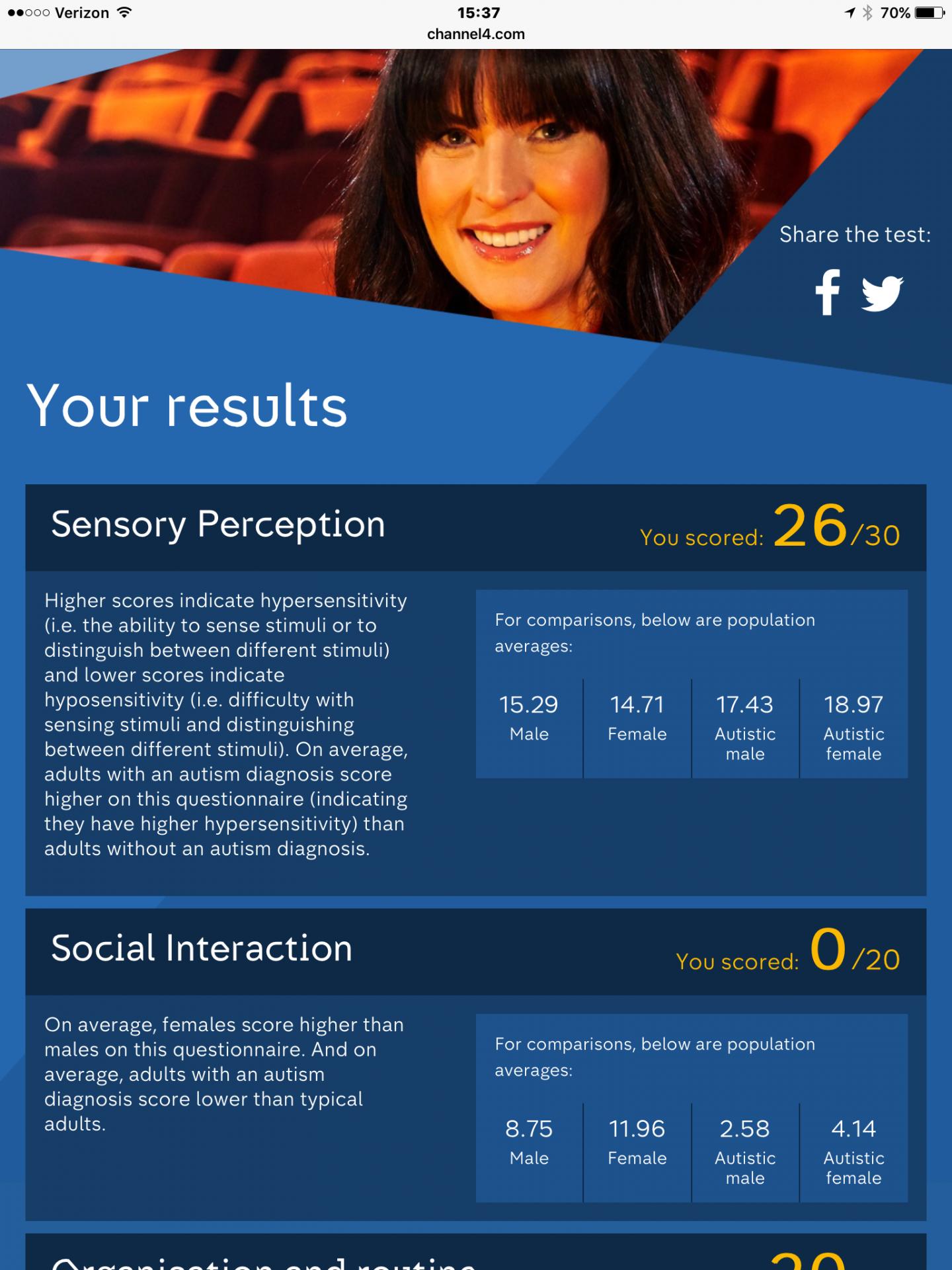 Autism Survey for Channel 4