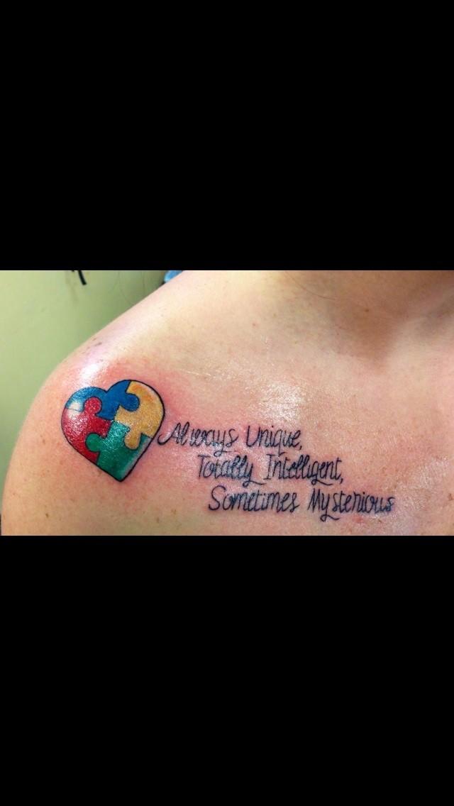 Aspergers Autism Tattoos Aspergers Autism Forum