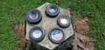 Tire shop ashtray collection.jpg
